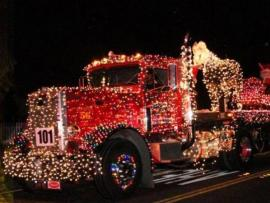 Guerneville Holiday Parade of Lights Photo