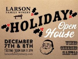Larson Family Winery Holiday Open House Photo