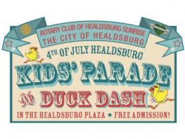 Healdsburg Fourth of July Celebration and Fireworks Photo