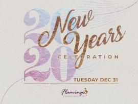 2020 New Year's Eve at The Flamingo Photo