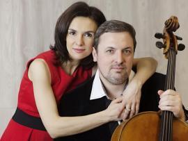 Redwood Arts presents the Kouzov Duo Photo