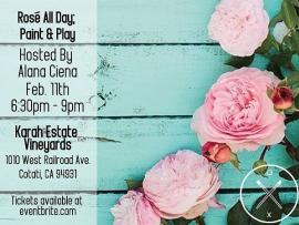 Artxcursion Presents: Rose all Day, Paint & Play Photo