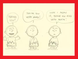 New Exhibition | Greetings, Charlie Brown! The Peanuts-Hallmark Connection Photo