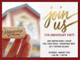 Muscardini Cellars 15th Anniversary Party Photo