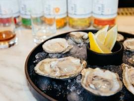 Hog Island Oysters at Hanson Distillery Photo