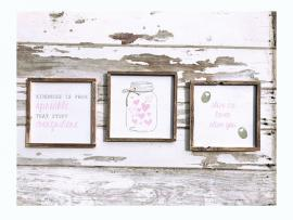 Galentine's Wine + DIY Wood Boxes and Signs Photo