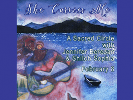 She Carries Me - Sacred Song and Intuitive Painting Class Photo