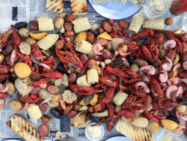 Crawfish and Seafood Boil Photo