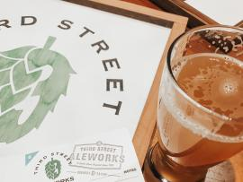 Boards + Brews at Third Street Aleworks Photo