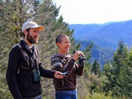 Breaking Into Birdwatching Presentation with Teresa & Miles Tuffli Photo