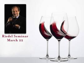 Riedel Seminar Featuring Georg Riedel Photo