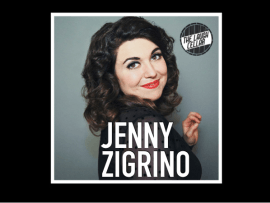 Comedian Jenny Zigrino - Buena Vista Winery Photo