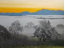 Wine Country Winter - Art Exhibit Reception Photo