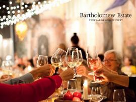 Bartholomew Estate Winemaker Dinner at the girl & the fig's Suite D Photo