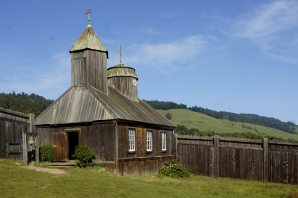Fort Ross Chapel Photo