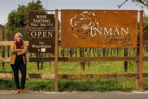 Owner and Winemaker Kathleen Inman Photo 2
