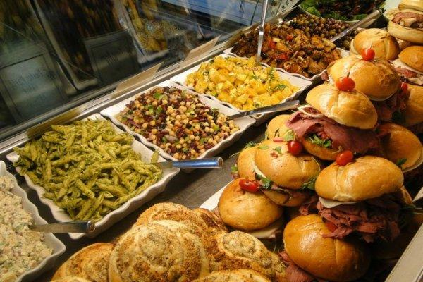 The Deli Case at Korbel - Sandwiches and salads Photo
