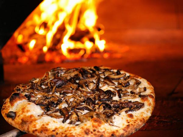 Mixed Mushroom Pizza at Jackson's Bar and Oven - Photo by Will Bucquoy Photo 13