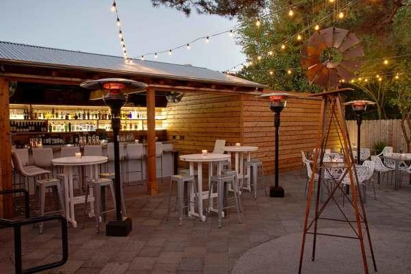 Patio at Bravas Photo 3
