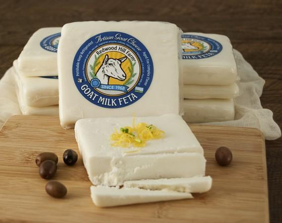 Redwood Hill Farm Goat Milk Feta - Savory, creamy Aged Goat Milk Feta made with the milk from our farm. Photo 10