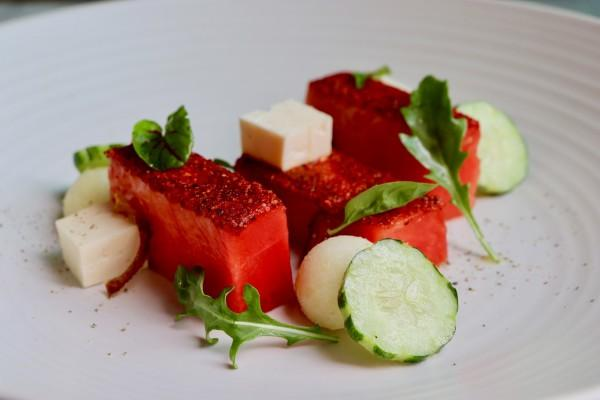 Watermelon Feta Salad Photo 9