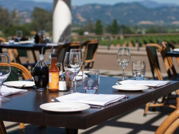 Dine on the patio at Rustic at Francis Ford Coppola Winery Photo 5
