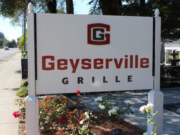 Geyserville Grille sign Photo