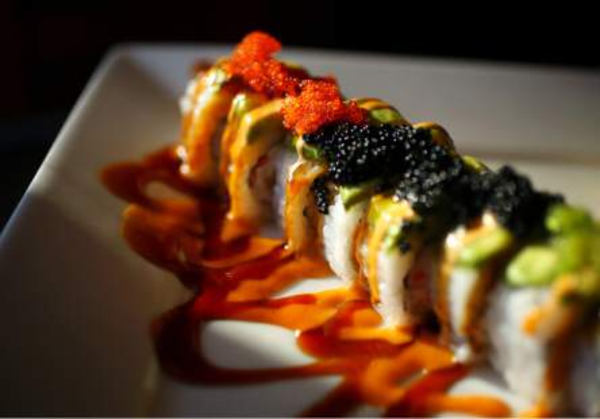 Pink lady sushi roll Photo 2
