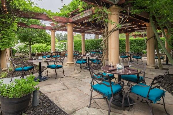 Patio Dining in Bacchus Restaurant & Wine Bar Photo