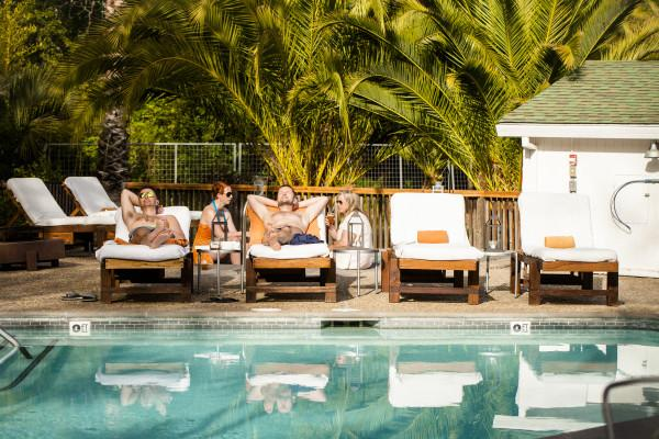 boon hotel + spa - poolside lounging Photo 3