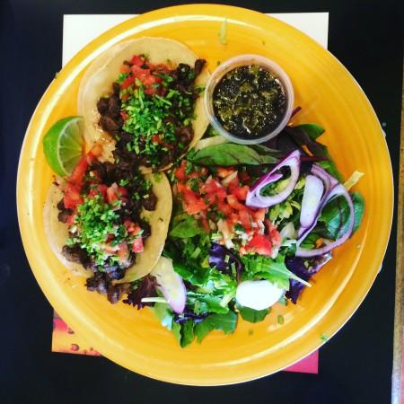 salad and tacos Photo 3