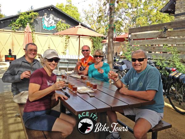 Biking to a Quaint Town of Sebastopol, CA and Tasting Fresh Craft Beers Photo 7