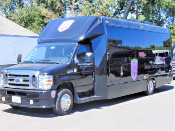 Our 17 passenger Federal Party Bus is perfect for your wine tour or special occasion! Photo 8