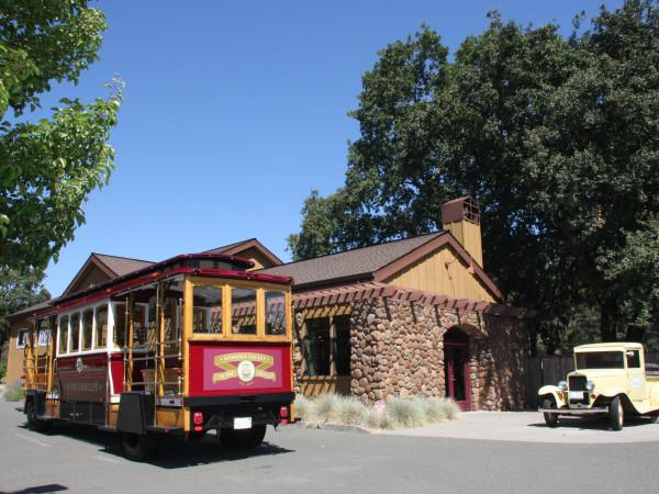 Sonoma Valley Wine Trolley Photo