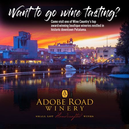 Visit Petaluma and Adobe Road Winery Photo