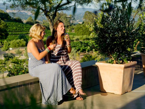 Dine on the patio at Rustic at Francis Ford Coppola Winery Photo 3