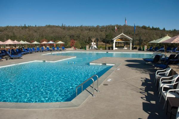 The pool at Francis Ford Coppola Winery Photo 6