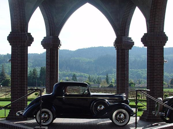 Classic Car at Ledson Winery & Vineyards Photo 14