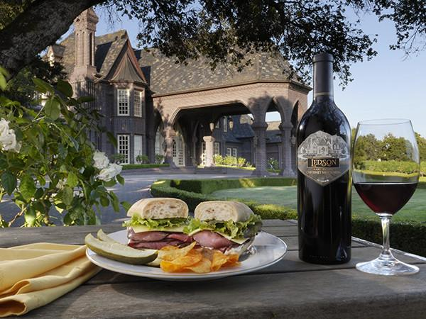 Sandwich from Gourmet Marketplace at Ledson Winery & Vineyards Photo 10