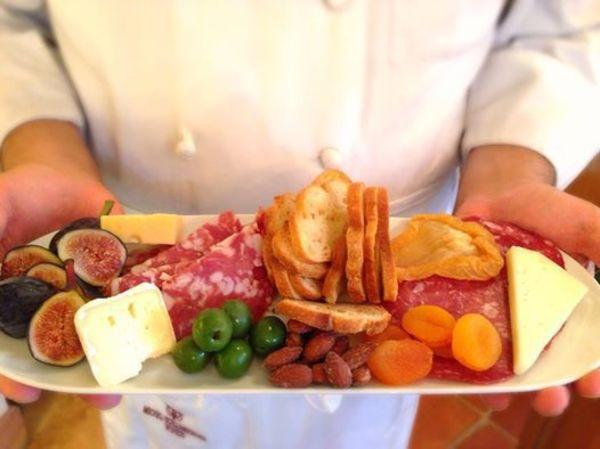 Charcuterie Plate at Michel-Schlumberger Wine Estate Photo 6