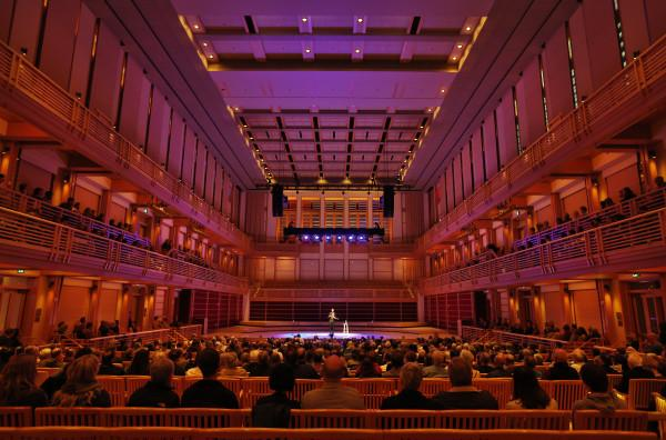 Inside Weill Hall - The 1,400 seat Weill Hall features artists ranging from orchestras; chamber ensembles; violinists, pianists, and vocalists; as well as jazz, world music, and ethnic dance. Photo 2