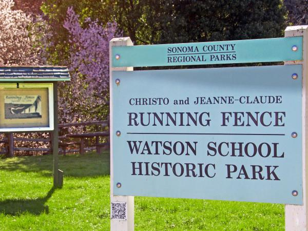 Running Fence - Watson School Historic Park Photo