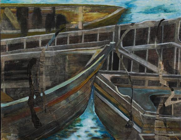 Moorings. Artist - Christie Marks Photo 2