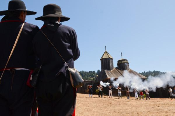 Militia at Fort Ross Photo 9