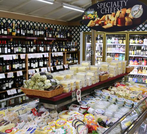 Andy's Wine and Cheese selection. Photo 7