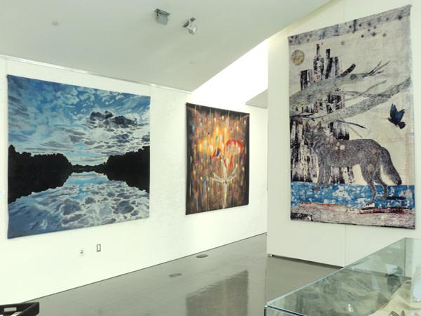 April Gornik, Rupert Garcia & Kiki Smith Tapestries Photo 2