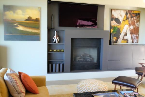 Living room at A Modern Sonoma Photo 3