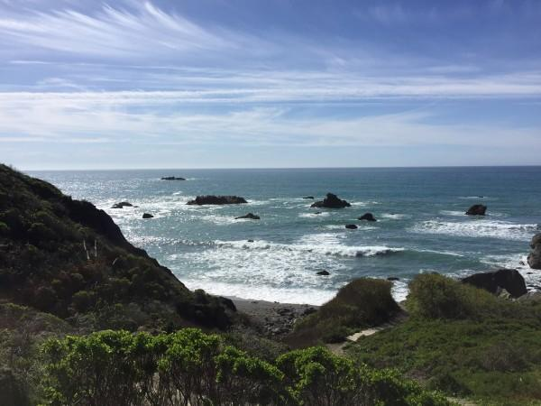 The view from Shell Beach Photo