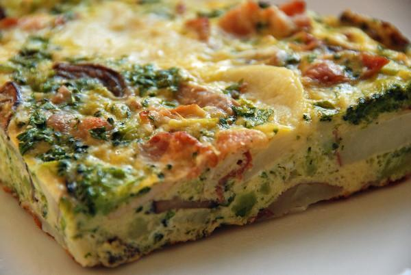 crustless quiche Photo 9