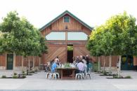 Dinner celebration in front of our Winery Barn Photo 5